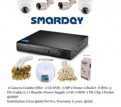 CCTV Camera Combo