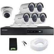 2 MP HD CCTV CAMERA SET WITH 1 TB HARDDISK
