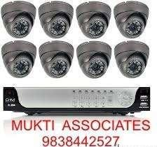 New CCTV camera with complete setup