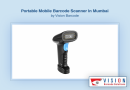 Portable Mobile Barcode Scanner In Mumbai By Vision Barcode