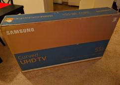 Samsung 55 inch Curved ULTRA HD 4K SMART LED