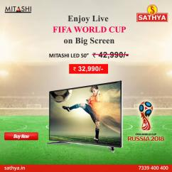 Buy LED Online - Buy Mitashi LED TV at super Discounts Prices - SATHYA