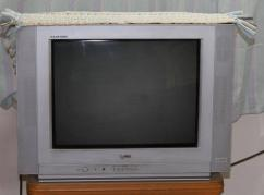 Very Rarely Used LG CRT TV