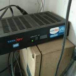 Very Less Used Tata Sky Set Top Box Available
