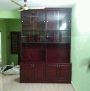 TV with its cabinet
