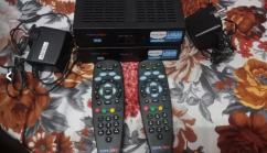Two pec Tata sky HD box brand new only 6th month use