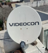 Videocon dish with recevier