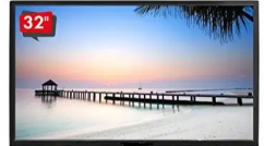 led tv 32 inch full hd in 9500/-sony panel