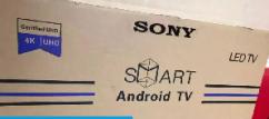 40 inch smart 4K ULTRA HD LED TV  Brand new  Sunday mega offer