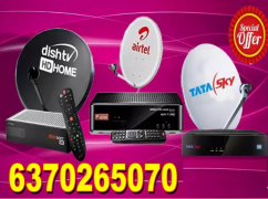 AIRTEL ,VIDEOCON D2H , DTH CONNECTION ,TATA SKY , DISH TV , TV