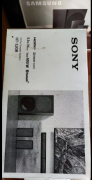 SONY 5.1 HOME THEATER SYSTEM 400W