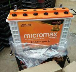MICROMAX INVERTER TUBULLER BATTERY