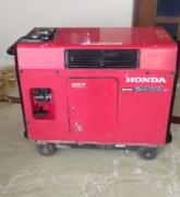 Noiseless Honda generator