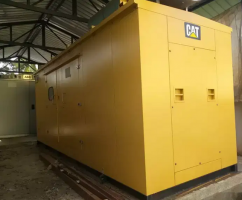 Genset caterpillar make,380kva