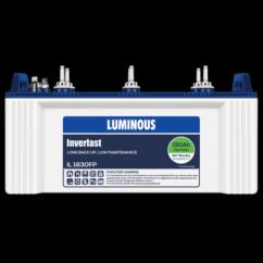 Luminous INVERLAST IL 1830FP 150ah Battery