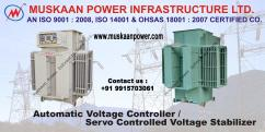 Best Largest Servo Controlled Voltage Stabilizer Manufacturers in India