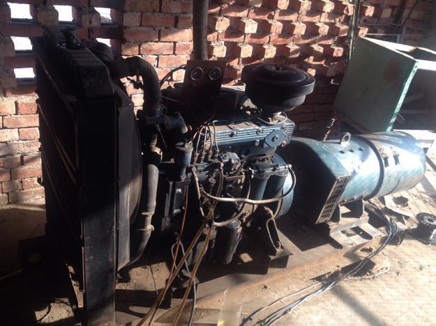 Diesel generator 62.5 kva