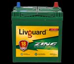 Livguard car battery 35ah