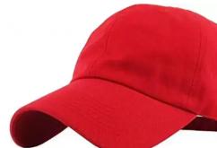 Mans Red Cap