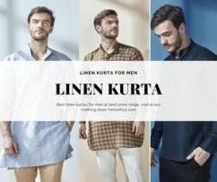 Ethnic Linen Kurtas for Men
