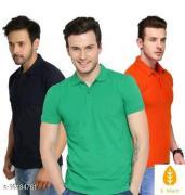 Trendy mens cotton blend Tshirts