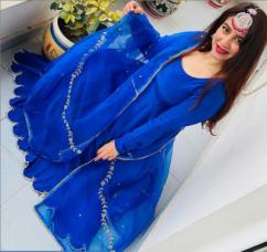 Punjabi Female Actress Suit Designs