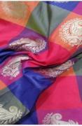 Patola Silk Meenakari Fabric