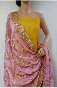 Gota Patti Chanderi Silk Suit