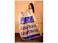 Contemporary and Stylish PC brand sarees