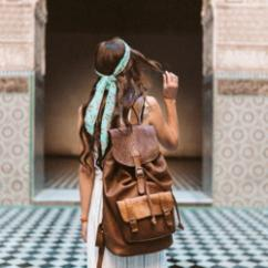 Leather Backpack  - Udaipur
