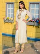 Exporters of glamorous embroidered kurti