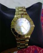Ladies GUESS Golden Watch