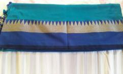 Get Gorgeous with Designer Linen Sarees