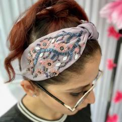 Sakura Cherry Blossom Turban Cute Headbands for Adults