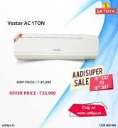 Buy Vestar 1 Ton AC at just Rs. 23,990/ - SATHYA