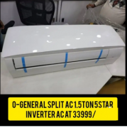 Inverter Split AC 1.5 Ton 5 Star O - general    Latest model 2021