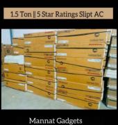 Brand new Split AC 1.5 TON 5 STAR Best cooling performance