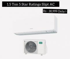 brand-new sealed pack 1.5 ton Five Star ratings slipt ac