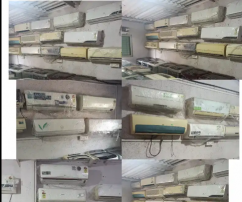 AC second hand  WITH DELIVERY FREE AVAILABLE