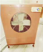 Well maintained Coloured , Newly motor, Heavy body Cooler with stand