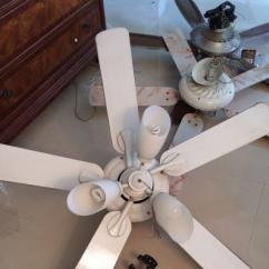 Ceiling Fan In White Color Available