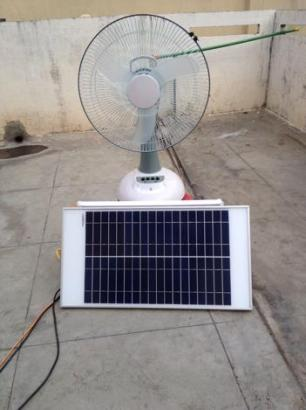 Solar Fan With Light For Sale