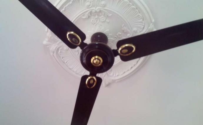 Black colour - Ceiling Fan