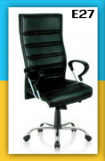 Boss Chair Revolving High Back Leatherite