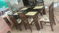 6 chairs dining set factory outlet free delivery all bangalore
