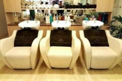 Get latest designs of hair wash station for your beauty salon
