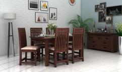 Brand New 6 Seater Dining Set Online for Sale at Wooden Street