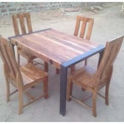 Table And Chair in rarely used Condition