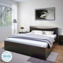UNBOXED Perfect Homes Carol Engineered Wood King Size Bed