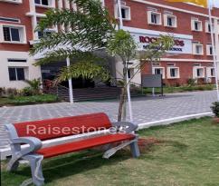 cement garden benches